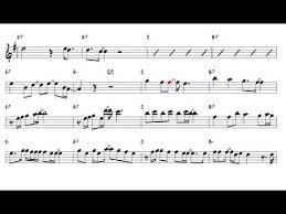 careless whisper tenor sax sheet music careless whispers george michael tenor sax youtube