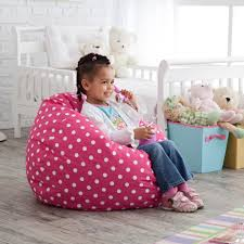 Furniture: Kids Bean Bag Chairs Inspirational Have To Have It Small Twill  Dottie Lounger Bean