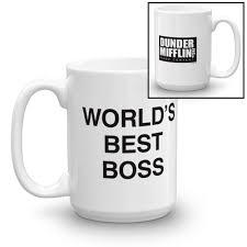 NBC Store The Office Worldu0027s Best Boss White Mug Seller