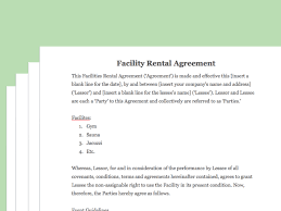 event agreement contract how to draft a sporting facility contract with pictures