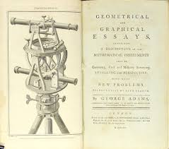 geometrical and graphical essays containing a description of the  geometrical