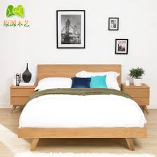 scandinavian bedroom furniture. Buy Solid Wood Bed Modern Japanese Mediterranean Minimalist Scandinavian Style Furniture 1.8 M Ash Double Bedroom A