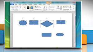 Flow Chart Youtube How To Create A Flow Chart In Microsoft Word 2010