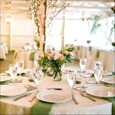 modern round table centerpiece ideas rustic country wedding reception with wedding dining table decoration ideas