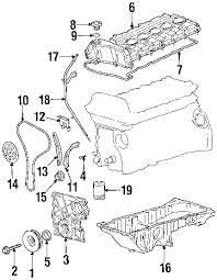 parts com® chevrolet engine crankshaft bearings front crank 2003 chevrolet trailblazer lt l6 4 2 liter gas crankshaft bearings