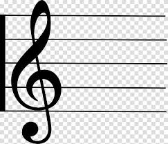 the music staff musical note of a music staff transparent background png
