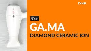 Распаковка <b>фена GA</b>.<b>MA DIAMOND</b> CERAMIC ION / Unboxing GA ...