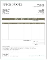 contractor quote template quote template sheet job est construction quote template word