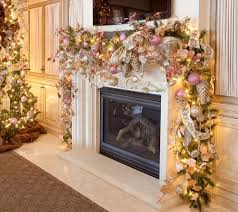 christmas fireplace mantel decorations ideas