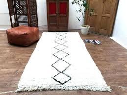 extra long bathroom runner rugs bath rug modern black mat blue