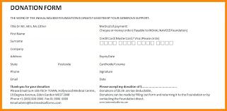Fundraiser Pledge Form Template Sample Donation Cards Donation Cards Template New Pledge Forms