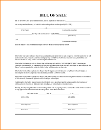 General Bill Of Sale Form Free Bill 0f Sale Form Magdalene Project Org