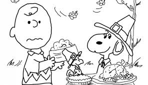 Small Picture Charlie Brown Thanksgiving Coloring Page Free Printable Coloring