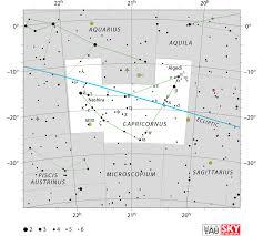 Capricornus Constellation Facts Myth Star Map Major