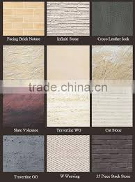 high evaluation flexible waterproof modified clay material wall and floor decoration exterior wall stone flexible tile