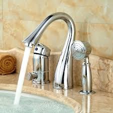 deck mounted bathtub faucet innovative single hole tub faucet deck mount 3 holes bathtub shower faucet deck mounted bathtub faucet
