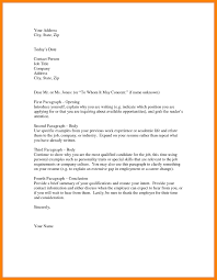 Unsolicited Cover Letter Sample Application Letter Definition Or Cover And Examples With