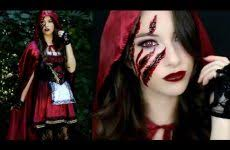 little red riding hood makeup tutorial costume