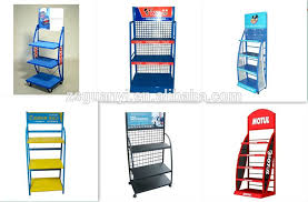 Retail Product Display Stands lubricating oil display rackmotorcraft motor oil display stand 11