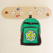 Unfinished Coat Rack Customize your skateboard coat rack decorate it with stickers or to 50