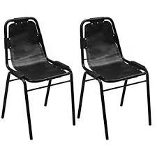 Vintage Industrial <b>Dining Chairs 2 pcs</b> Aesthetics Style Kitchen ...