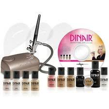 amazon foundation deluxe dinair airbrush makeup kit personal pro um shades beauty