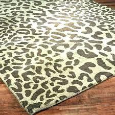 animal print area rugs deer rug round canada