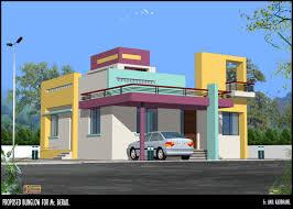 stylish ground floor design in house elevation designs indian round