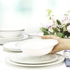Melamine Dinnerware Designs Zak Designs French Country House Melamine Dinnerware Set