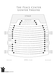 Peace Center Greenville Seating Chart Peace Center Seating Chart 2020 Auto Car Release Date