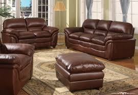 Sofas Center  Luxurious Brown Leather Sofa And Chair Luxury Set - All leather sofa sets