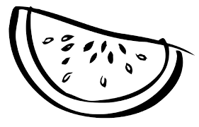 Small Picture Watermelon clipart colouring page Pencil and in color watermelon