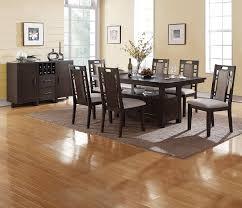 Amazoncom Kitchen Dining Room 7pc Dining Set Earthy Grey Hues