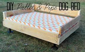Diy Dog Bed Diy Pallet Pipe Dog Bed Tutorial A