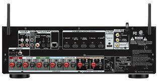 Denon AVR-S720W; AVR-S720W- BACK  Gibbys Electronic Supermarket