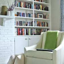 simple small home office ideas. Small Home Library Simple Design Photo With Nice Book Cabinets Office Ideas