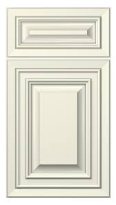 Kitchen Cabinets With Doors Florence Door Style Painted Antique White Kitchen Cabinets