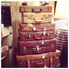 Old Suitcases Purses Bags Vintage Luggage Dolly Python