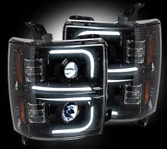 best 25 chevy silverado accessories ideas on pinterest truck 2014 Chevy Silverado Headlight Wiring recon oled halo drl projector headlights 2014 2015 chevy silverado (smoked) 2011 chevy silverado headlight wiring diagram
