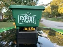 expert gardener hand held spreader