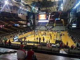 Memorial Gym Seating Chart Memorial Gymnasium Section 2f Rateyourseats Com