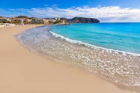 Premium Photo | Moraira playa la ampolla beach in teulada alicante spain