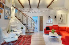 Attractive Loft Apartment With Exposed Beams