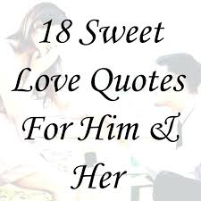 Sweet quotes