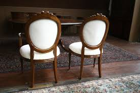 round back dining chair. Upholstered In Muslin And Ready For Your Own Fabric ! Dining Chairs,Mahogany Round Back Chairs Chair