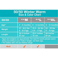 Love To Dream Swaddle Up 50 50 Warm 2 5tog Muti Large