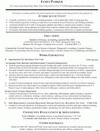 Accountant Resume Format For Experienced Accountant