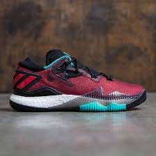 Crazy Light Low Boost Adidas Men Crazylight Boost Low 2016 Red Black Footwear White Shock Mint