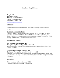 Data Entry Resume Objective Examples Cool Data Entry Resume Objective Examples About Data Entry Operator 2