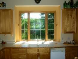bathroom pleasing kitchen sink window ideas over treatment